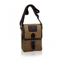 Pepe Jeans Bandolera Shoulder Bag Yute Color Camel 35X20X7Cm Ref 7015051