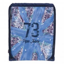Pepe Jeans Gym Sac Miranda Azul Ref 6141252
