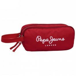 Pepe Jeans Logo Basic Rojo Neceser 2Comp Ref 6151353