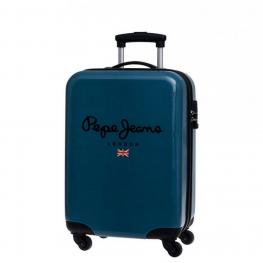 Pepe Jeans Maleta Trolley Abs Color Azul 37X55X20 Ref 6041751