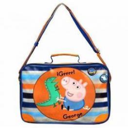 Peppa Bolso Bandolera George Color Azul y Naranja Ref 16000