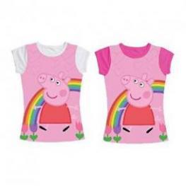 Peppa Camiseta Manga Corta Tallas 18M- 2-3-4Años Ref 960744