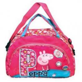 Peppa Pig Bolsa Deporte Flores Ref.16016