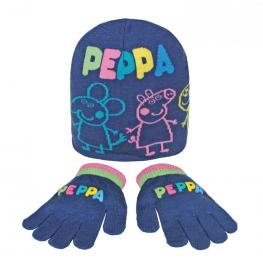 Peppa Pig Conjunto Inv Acril. 2Pcs