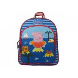 Peppa Pig Mochila Rayas Blue Ref.007-5446