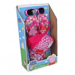 Peppa Pig Set Verano Gafas-Gorra y Chanclas Talla 28Y 30 Ref.2504000295