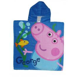 Peppa Pig Toalla Poncho George 60*120Cm Ref 820-056