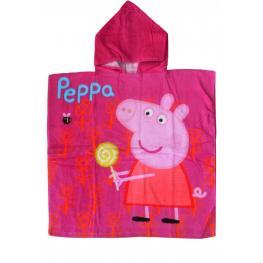 Peppa Pig Toalla Poncho Peppa 60*120Cm.Ref.820-058