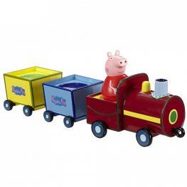 Peppa Pig Trenecito Bailon Incluye Figura Weebles +18 Meses Ref 84335