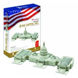 Puzzle 3D 132 Pices Tehe Capitol Hill Ref Mc074
