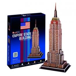 Puzzle 3D 39 Pieces Empire State Bulding World S Great Architecture Ref C704