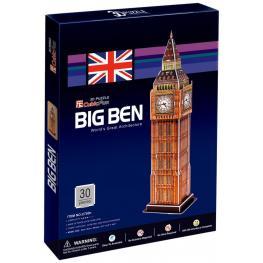 Puzzle 3D Big Ben 30Pieces Ref C703