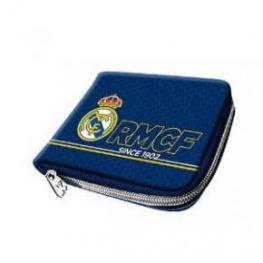 Real Madrid Bill Zipper Blue Ref 60052