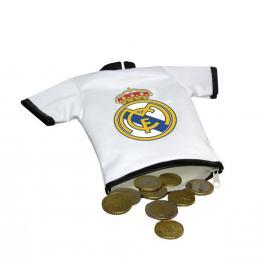 Real Madrid Monedero Camiseta Ref Pc-200-Rm