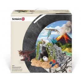 Set de Dinosaurios Con Cueva (Schleich)