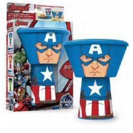 Set Desayuno Pp Apilable Avengers Capitan America C.53877