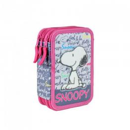 Snoopy Plumier 3 Pisos