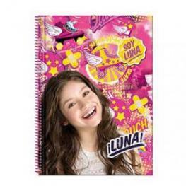 Soy Luna Bloc A4 80H Ln Freestyle Ref 52976