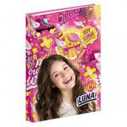 Soy Luna Carpeta Anillas Ln Freestyle Ref 52973