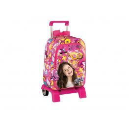 Soy Luna Mochila Con Carro Daypack Ln Freestyle Ref 52951