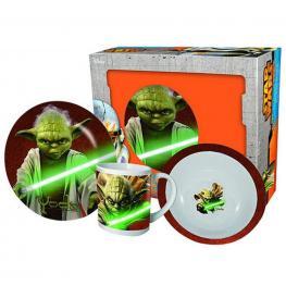 Star Wars Set Desayuno En Caja Stw5