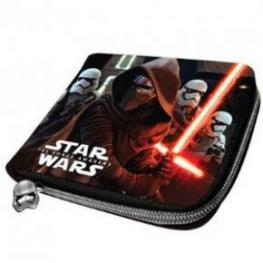 Starwars Billetero Zipper The Force