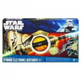 Starwars Espada Laser Spinning