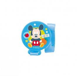 Sujeta Chupete Azul Mickey Baby
