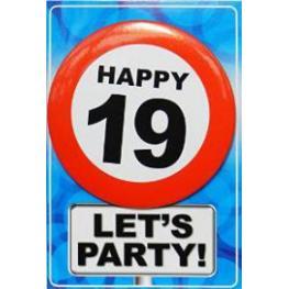 Targeta Happy 19 Ref 07344