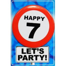 Targeta Happy 7 Ref 07332