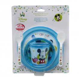 Mickey Vajilla Especial Microondas Baby Ref 14372