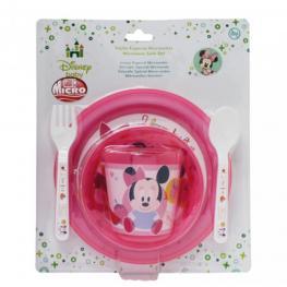 Minnie Set Vajilla Especial Microondas Ref 14372