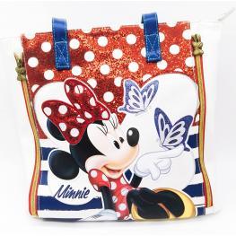 Disney Minnie Bolso Shopping Zipper Butterfly