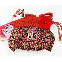 Disney Bolsito Infantil de Tela Minnie 2102001314