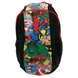 Vengadores Marvel Mochila  Negro Dibujo