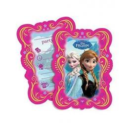 Frozen 6 Invitaciones