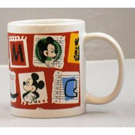 Mickey Mouse Porcelana Taza Ref Mk130-Kcecbz