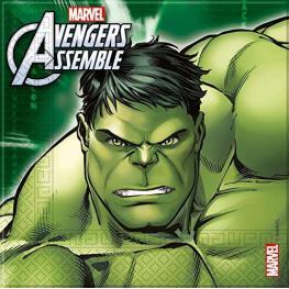 Marvel Servilletas Hulk