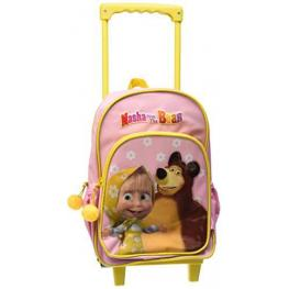 Masha And The Bear Mochila Carro Pequeña Ref 8863