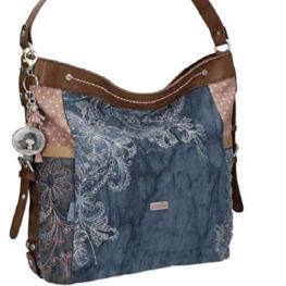 Bolso 1 Asa Textil Azul Anekke  Ref.23741