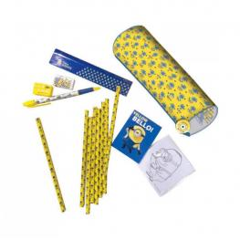 Minions Activity Set Kit Completo Estuche Cilindrico