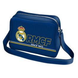 Real Madrid Bolso Bandolera Basic Blue Ref 59889