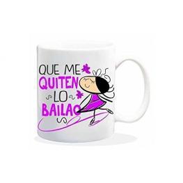 Taza Que Me Quiten Lo Bailado Ref Hl082
