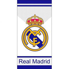Real Madrid Toalla de Playa 70X140 Cm Ref Rm A61003