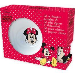 Minnie Set de Desayuno Ceramica  Ref 70165
