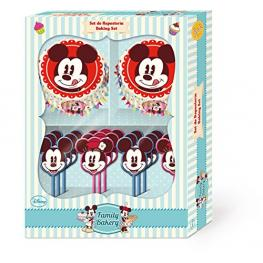Mickey Family Bakery Estuche Para Cupcakes