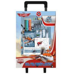 Planes Trolley Mochila Con Set de Colores Ref 13807Es
