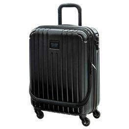 Pepe Jeans Trolley Abs 55Cm.4R With Pocket Black Label 40*55*20Cm Ref7511251
