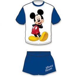 Mickey Mouse Conjunto Corto Pijama Ref 33505