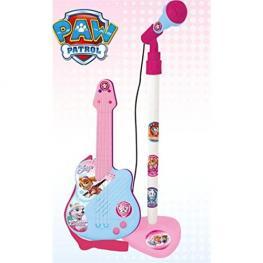 Paw Patrol Guitarra Con Microfono Chica